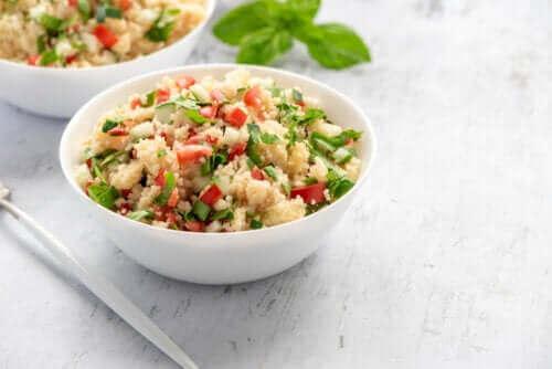 Μια εύκολη συνταγή για κουσκούς με λαχανικά