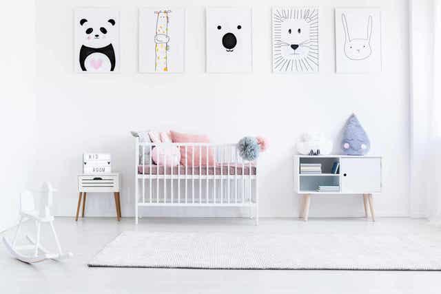Εικόνες σε παιδικό δωμάτιο