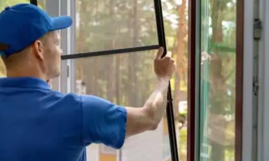 παράθυρο με σίτα